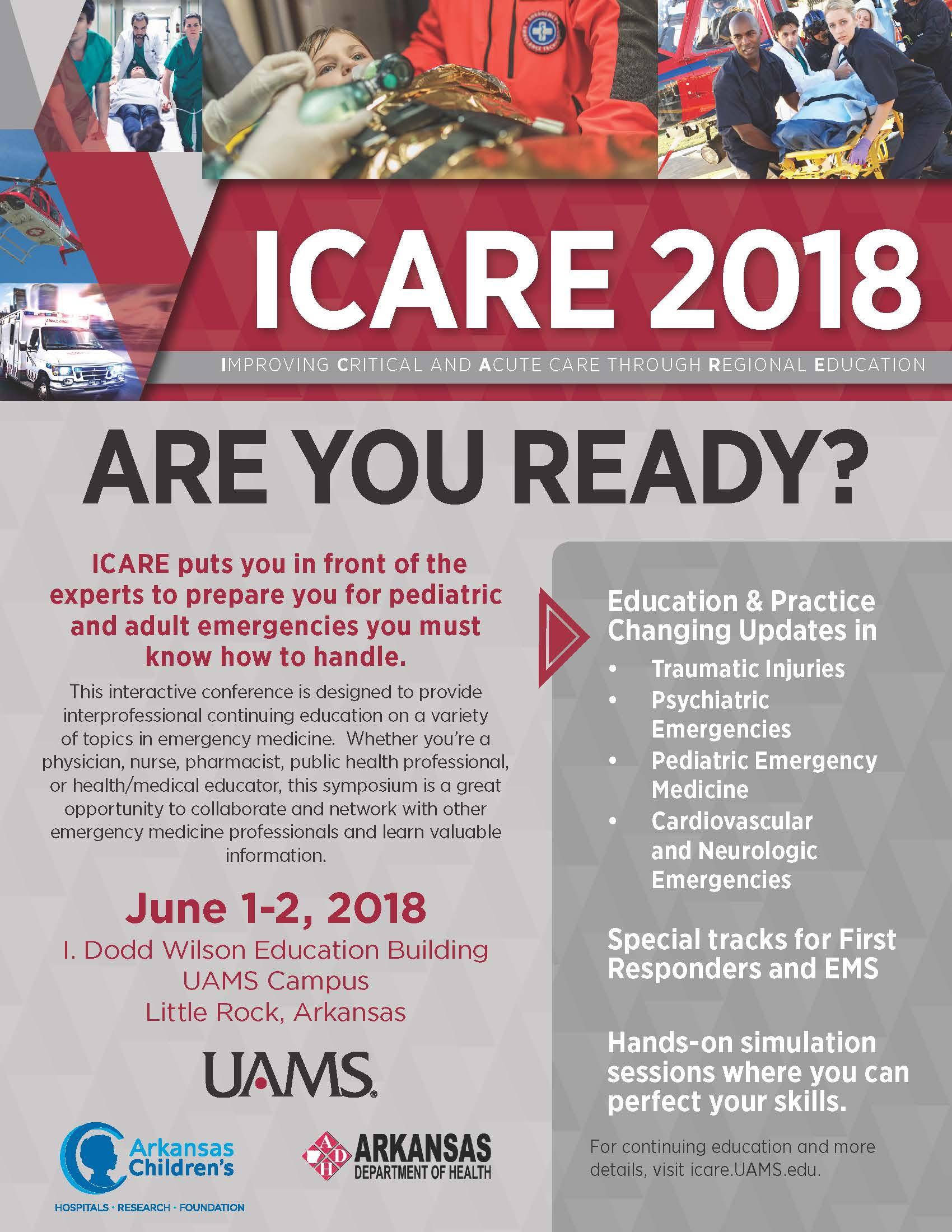 2018 Improving Critical and Acute Care through Regional
