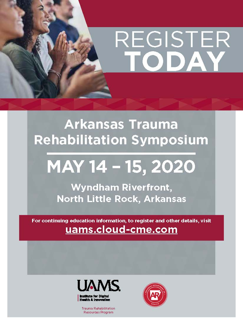 2020 Arkansas Trauma Rehabilitation Resources Program Symposium Banner
