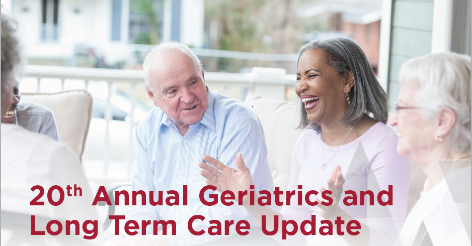 20th Annual Geriatrics and Long-Term Care Conference Banner
