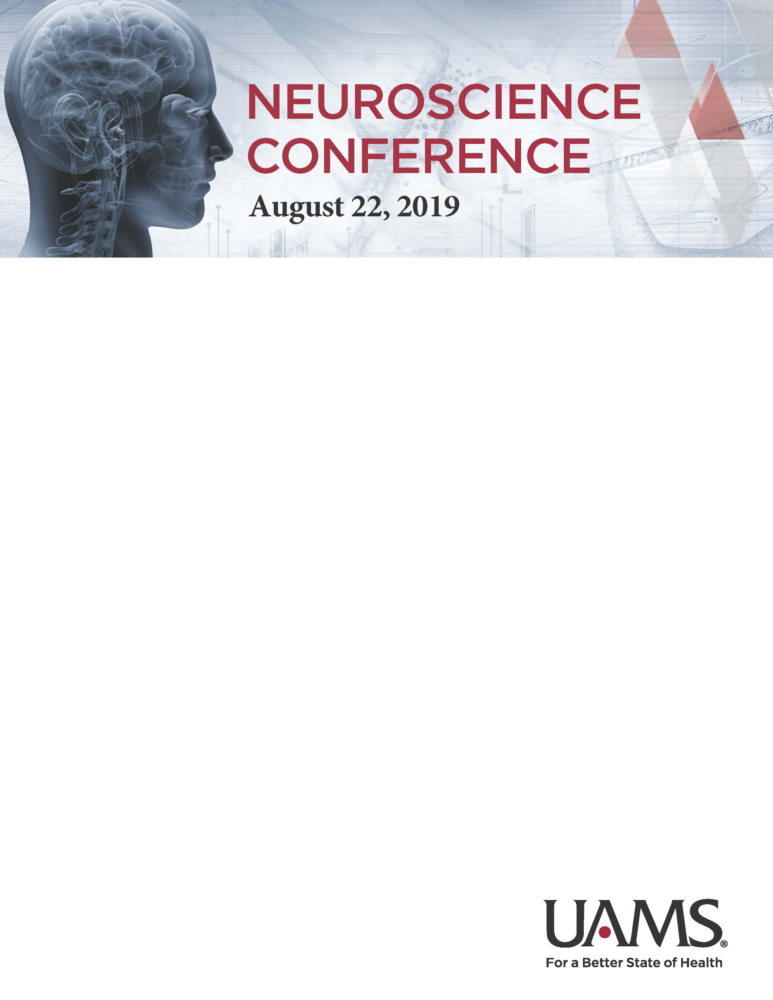 2nd Annual Neuroscience Conference Banner